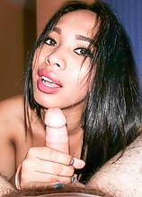 Enjoy seeing ladyboy Sandy have her immaculate asshole gaped POV and filled with man goo!