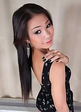 Today we bring you the Asian ladyboy New. This girl is simply fucking gorgeous. Our boy Ramon wastes no time getting right to that TS ass. One look at