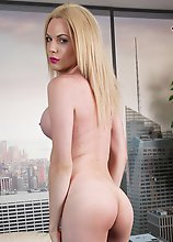 Cayla Sky is a sexy young tgirl with a hot slim body, legs that go on forever, a perky ass and a delicious cock! See this sexy transgirl stripping and